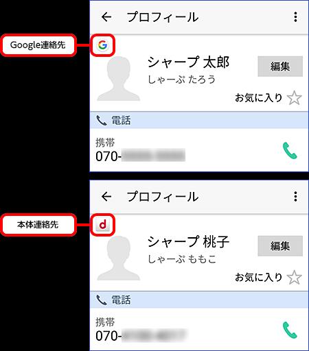 スマホの 「連絡先」に表示される内容をgmailと同期させない方法を教え- Android(アンドロイド) | 教え ...